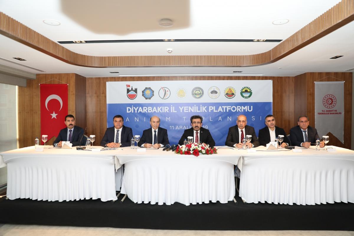Diyarbakır İl Yenilik Platformu Kuruldu