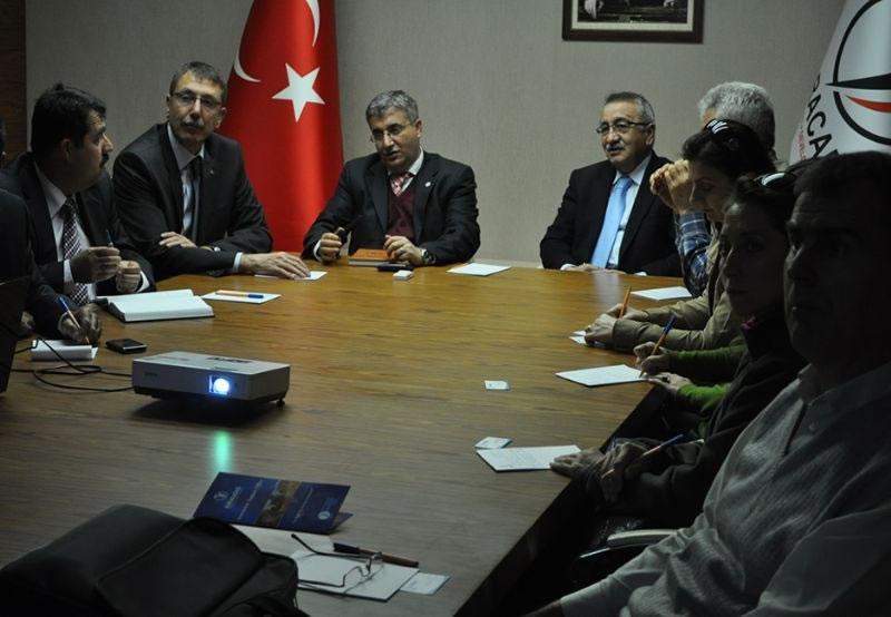 Dsi Genel Müdürlüğünden Şanılurfa Ydo'ya Ziyaret
