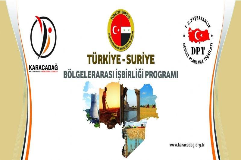 Türkiye ile Suriye Bölgelerarası İşbirliği Programı Kapsamında Şanlıurfa Da Projelere 2.5 Milyon Tl Hibe Verilecek!