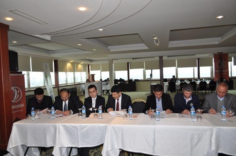 Ts-bip Eğitim Toplantısı Şanlıurfa Ydo'da Gerçekleştirildi.