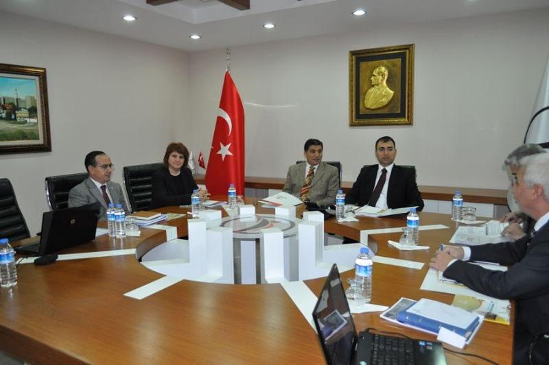 Ajans Yönetim Kurulu Vali Mustafa Toprak Başkanlığında Toplandı