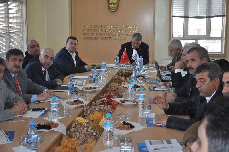 Şanlıurfa Pamuk Platformu İkinci Toplantısı Ticaret Borsasında Gerçekleştirildi