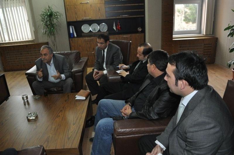 Belediye Başkanı Eşref Fakıbaba'dan Şanlıurfa Ydo'ya Ziyaret