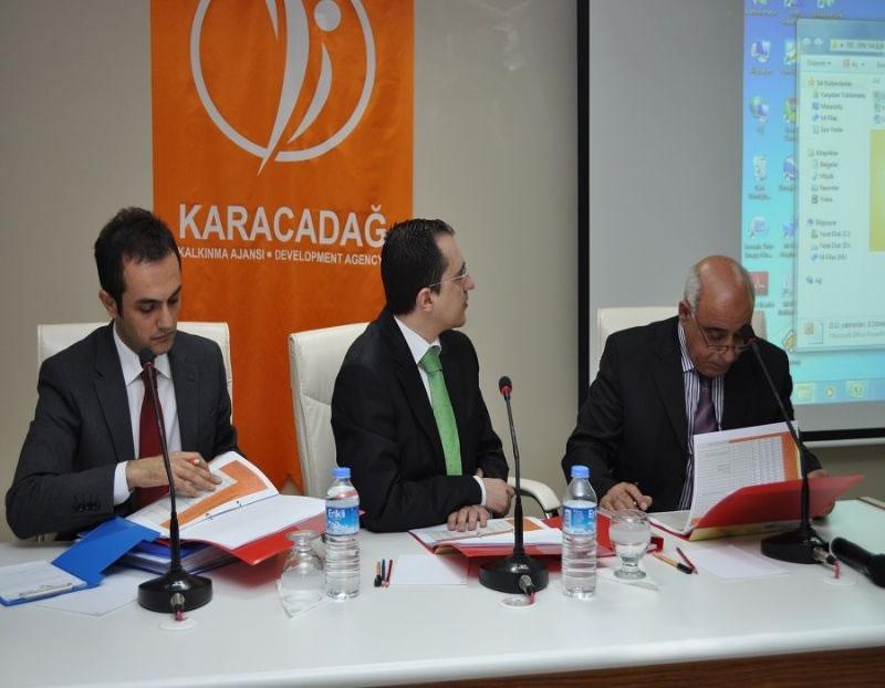 Diyarbakır'daki Projeler Masaya Yatırıldı