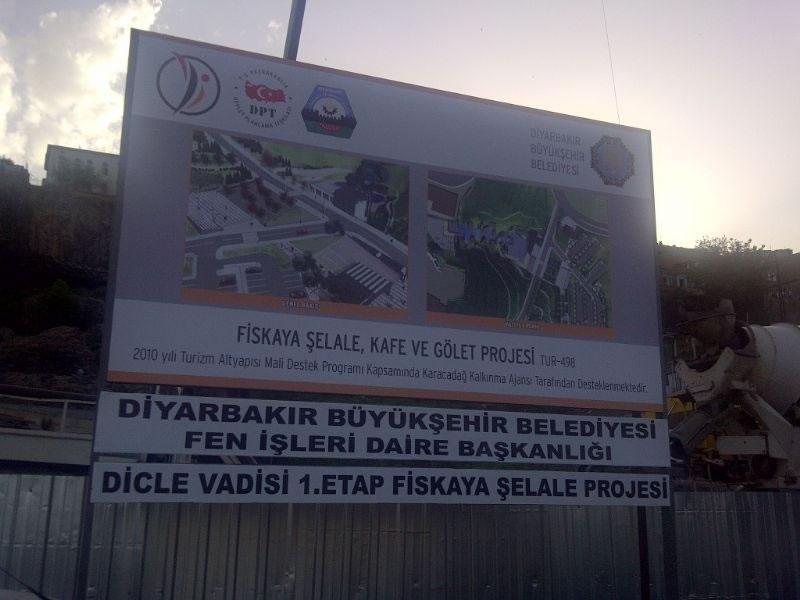 Dicle'yi Diyarbakır'la Buluşturacak Fiskaya Şelalesi İçin Start Verildi