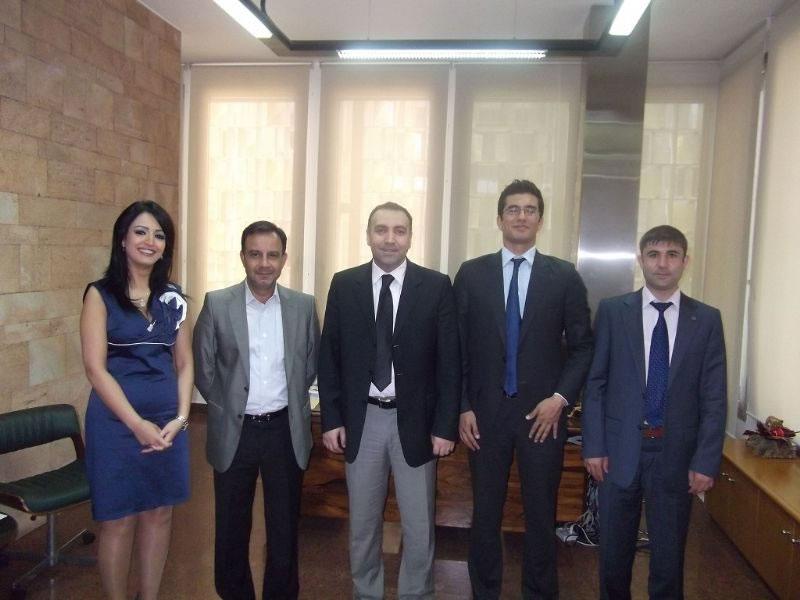 Karacadağ Kalkınma Ajansı Beyrut İnşaat Fuarı'nda