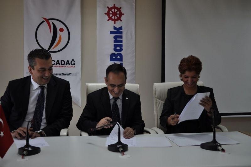 Karacadağ Kalkınma Ajansı ile Denizbank İşbirliği Protokolü İmzaladı