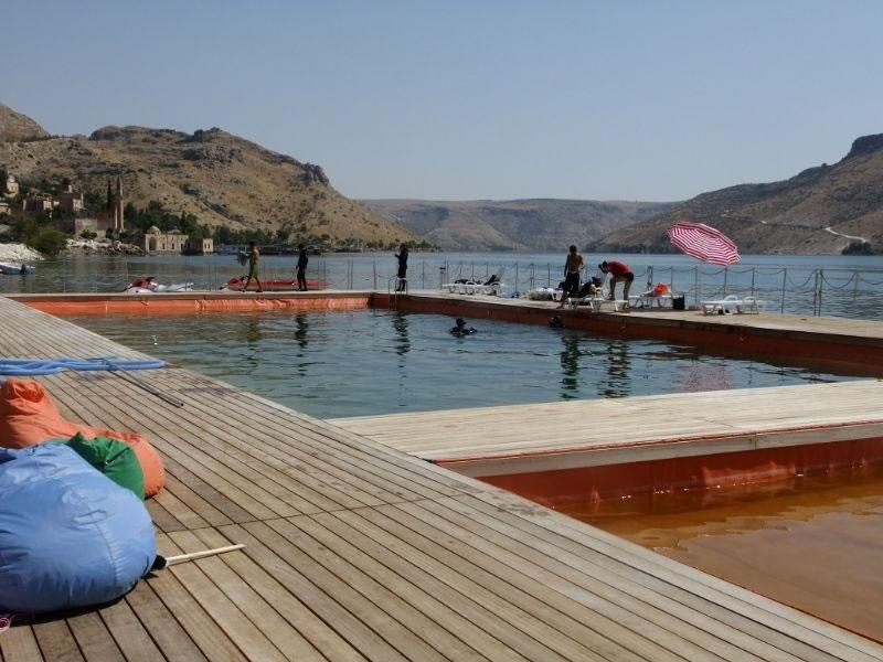 Halfeti'nin Su Alt Güzellikleri Turizme Kazandırılıyor