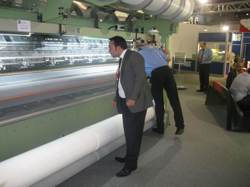 Ajansımız, Dünya'nın En Büyük Tekstil Fuarı'na Katıldı
