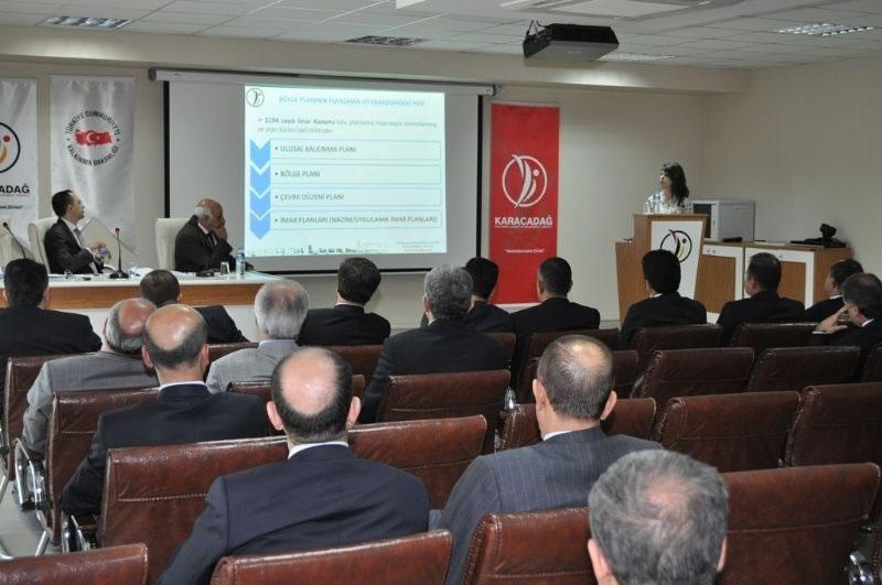 Trc2 Bölgesi 2011-2013 Bölge Planı Kamu Kurumlarına Tanıtıldı