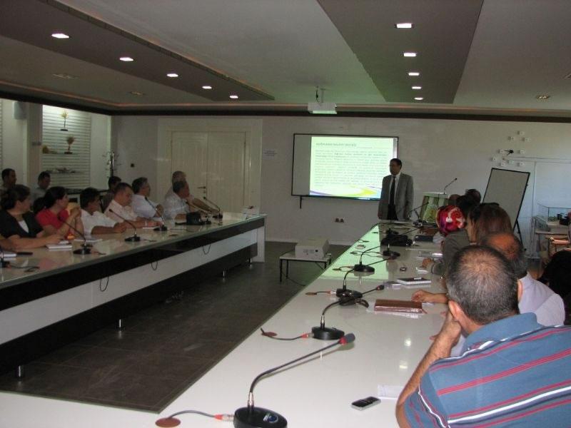 Ajans'tan, Gap Tarımsal Araştırma Enstitüsü'ne Bilgilendirme Toplantısı