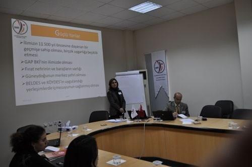 Sanlıurfa Kentlesme, Çevre ve Altyapı Çalıştayı