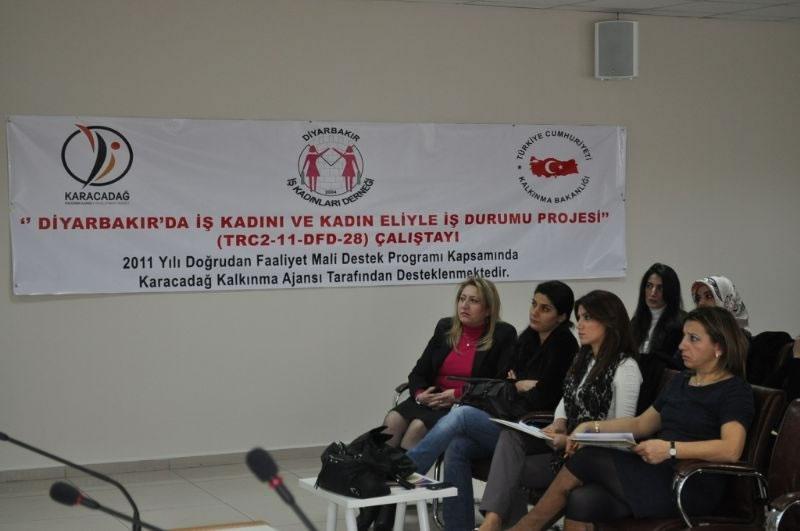 Diyarbakır İş Dünyasına ' Kadın Eli ' Değiyor