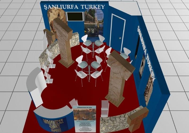 Şanlıurfa Dünyanın En Büyük Turizm Fuarı'na Özel Standı ile Katılıyor