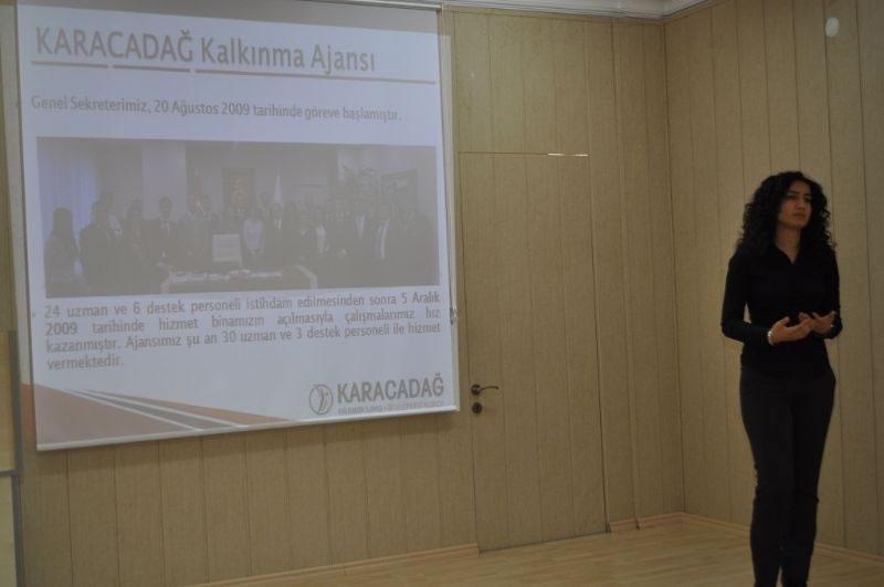 Ajans'tan Diyarbakır'daki Meslek Lisesi Yöneticilerine Tanıtım
