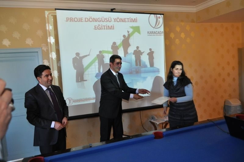 Diyarbakır'ın Çermik İlçesinde Proje Hazırlama Eğitimi