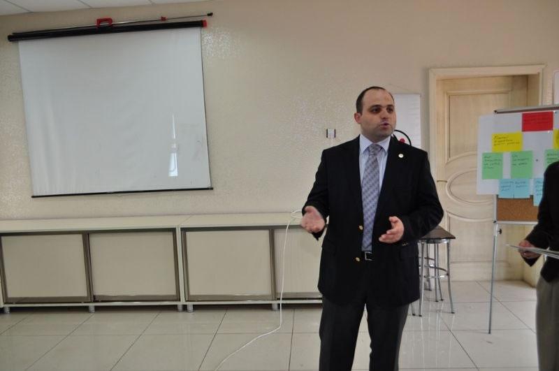 Diyarbakır'ın Dicle İlçesinde Proje Hazırlama Eğitimi
