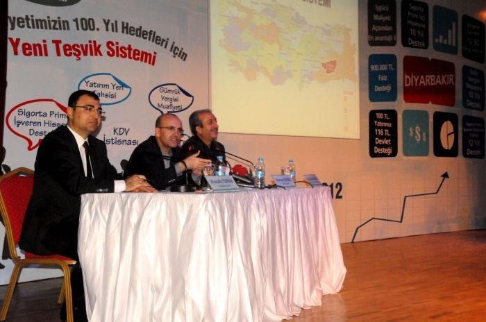 Bakanlar, Yeni Teşvik Sistemini Diyarbakır'da Anlattılar
