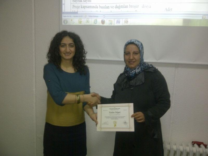 Şanlıurfa'da Kadın Stk'lara Proje Hazırlama Eğitimi