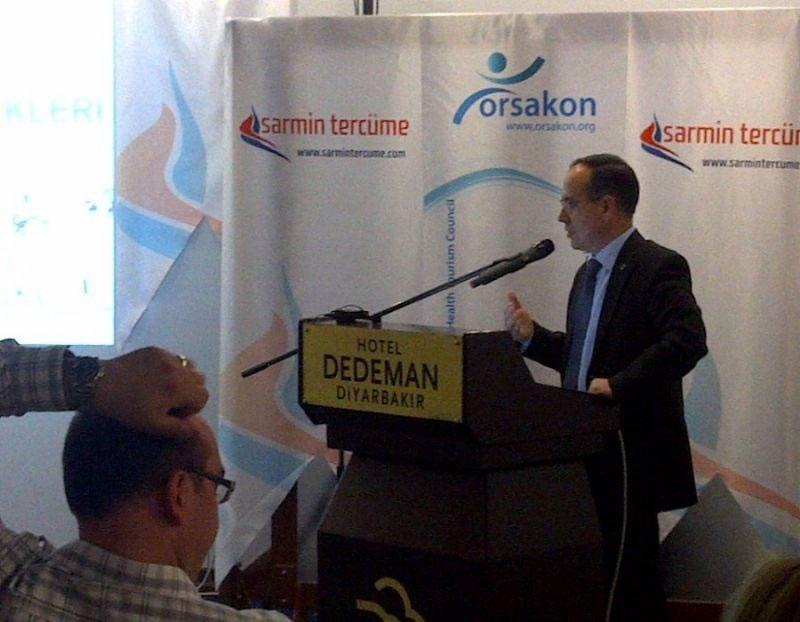 Karacadağ Kalkınma Ajansı, Diyarbakır Sağlık Turizmi Kongresi'nde