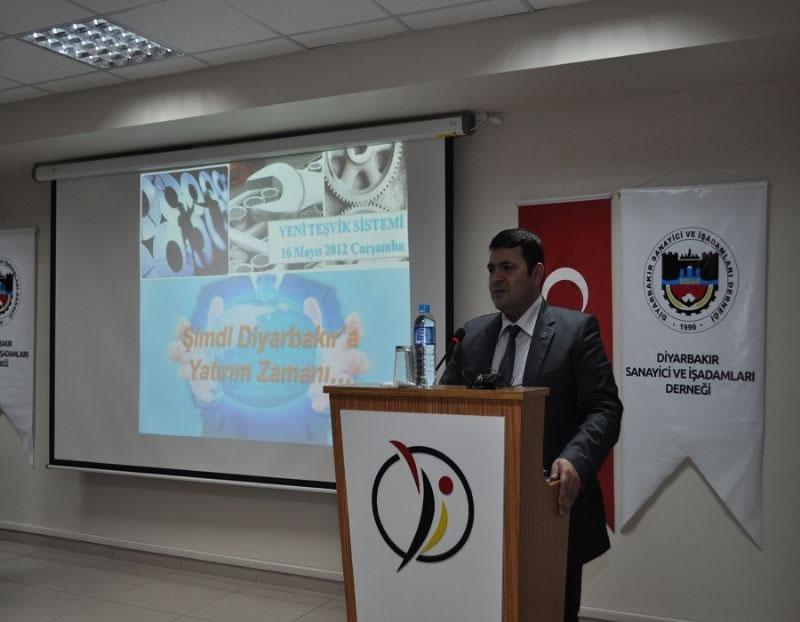Karacadağ Kalkınma Ajans'ından İşadamlarına Yeni Teşvik Sunumu
