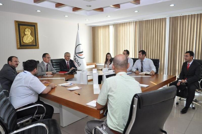 Bakan Yardımcısı Ceylan'dan Ajansımıza Ziyaret