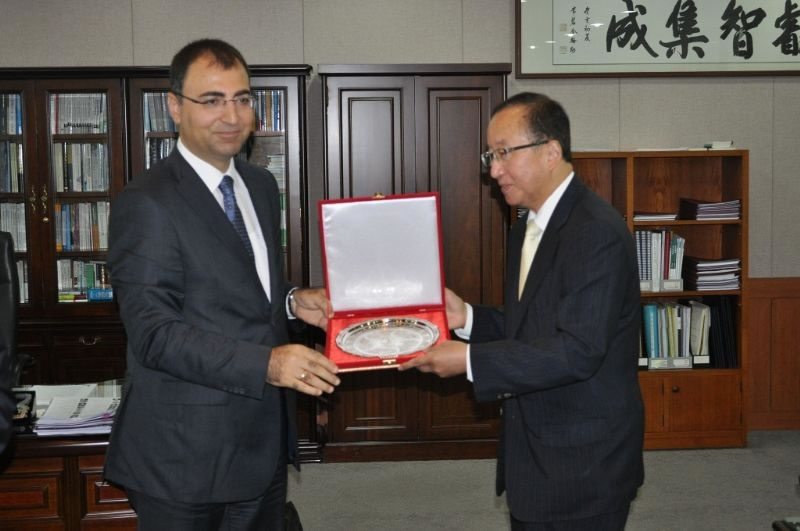 Ajans Yönetimi'nden, Kore Uluslararası Ticaret Birliği'ne Ziyaret!