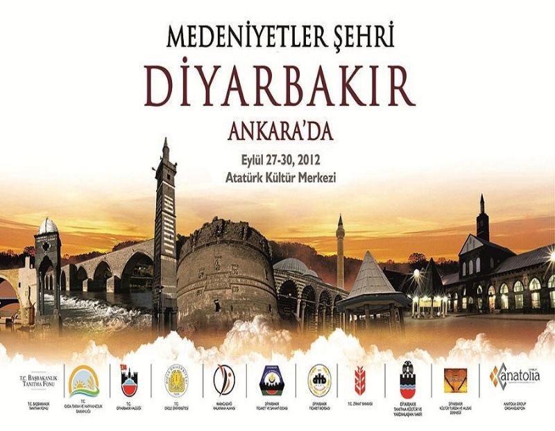 Diyarbakır 4 Gün Boyunca Ankara'da Tanıtılacak