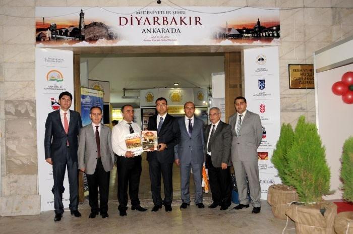 Diyarbakır'a Ankara'da Yoğun İlgi