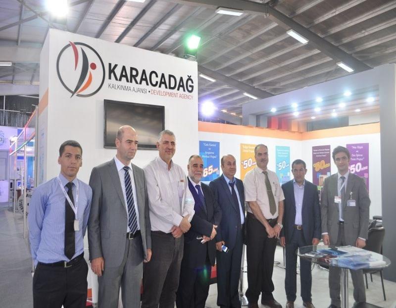 Karacadağ Kalkınma Ajansı Ortadoğu İnşaat Fuarı'nda