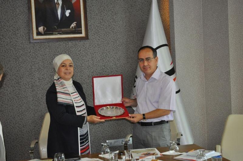 Tunus'tan Ajansımız ile Gap İdaresi'ne 'bölgesel Kalkınma 'ziyareti