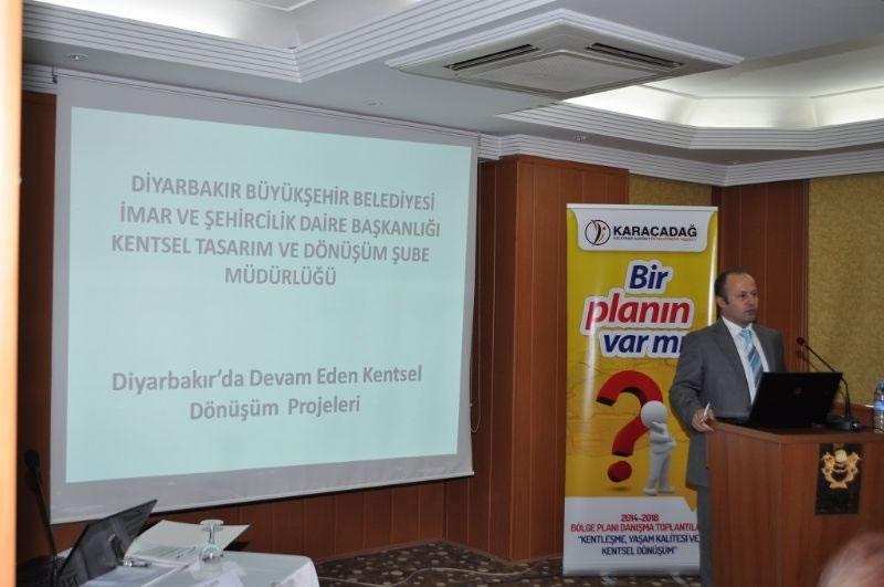 Diyarbakır'ın Kentsel Dönüşümüne 'ortak Akıl Arayışı'