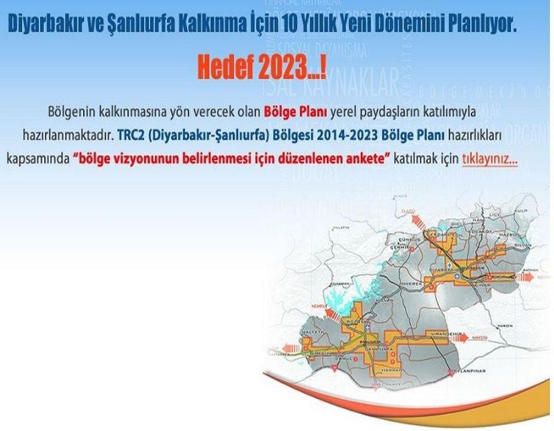 Diyarbakır ve Şanlıurfa Gelecek 10 Yılını Planlıyor