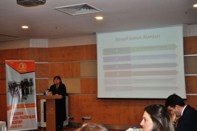 Şanlıurfa Sosyal Politikalar Çalıştayı Düzenledi