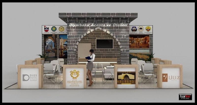 Medeniyetler Mirası Diyarbakır Tüm Güzellikleri ile Emıtt'te