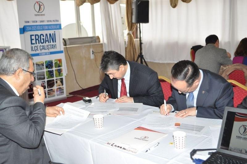 Karacadağ Kalkınma Ajansı'ndan Ergani'de Çalıştay