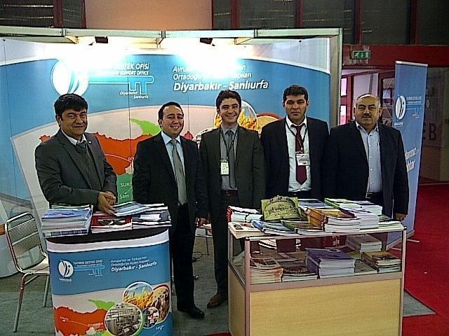 Ajansımız Türkiye'nin İlk Uluslararası Gıda Fuarı'nda