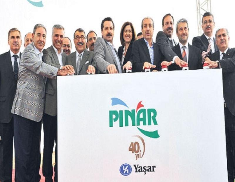 Pınar Süt Şanlıurfa'daki 100 Milyon Tl'lik Yatırımının Temelini Attı