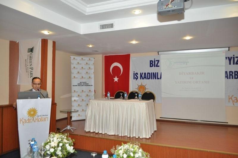 İş Kadınları Yatırım İçin Diyarbakır'da Buluştu