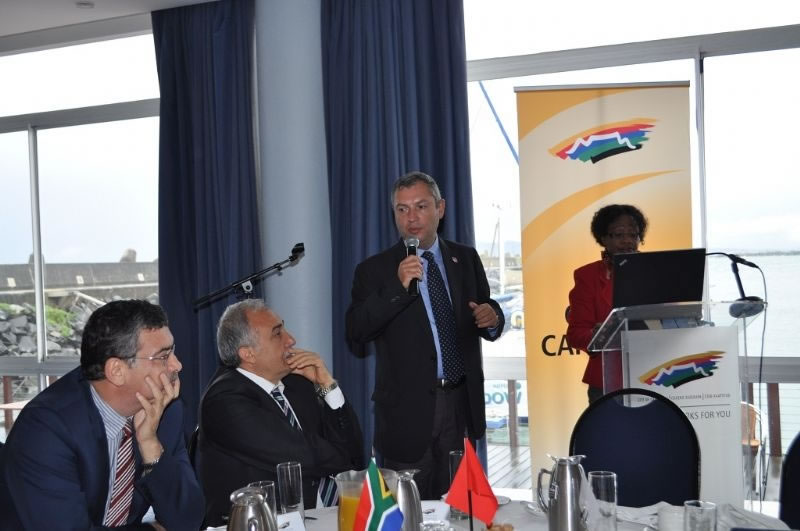 Vali Güvenç: Cape Town ile Tarım ve Turizmde İşbirliği Yapabiliriz!