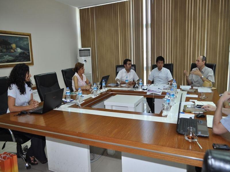 Japonya Uluslararası İşbirliği Ajansı'ndan Ajansımıza Ziyaret
