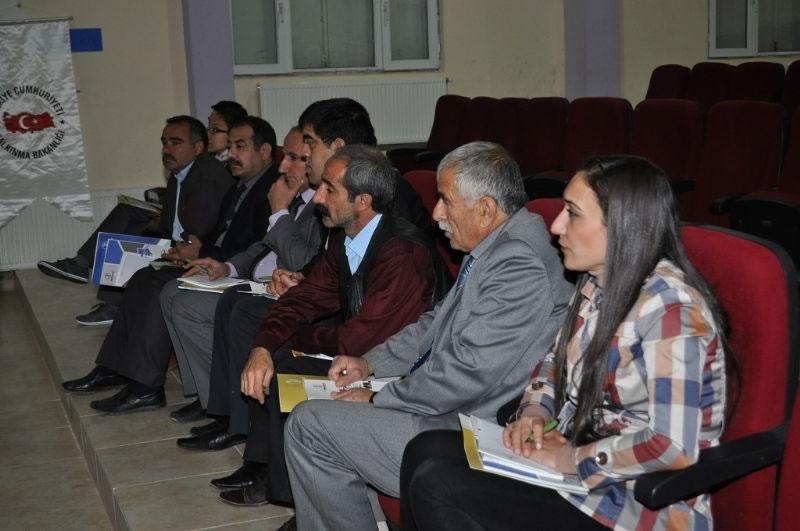 Karacadağ Kalkınma Ajansı'ndan Hazro'da Bilgilendirme Toplantısı