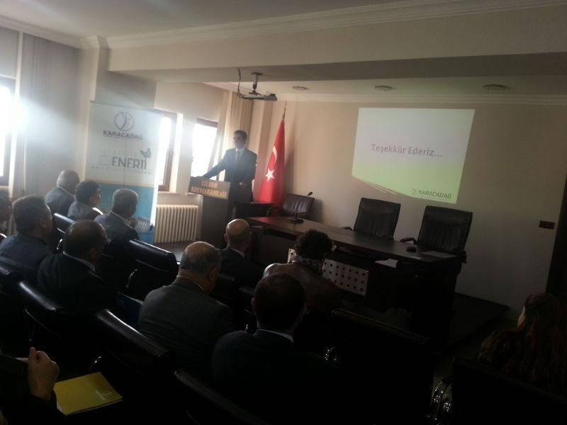 Silvan'da Bilgilendirme Toplantısı