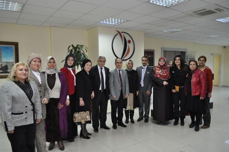 Bursalı İş Kadınlarından Ajansımıza Ziyaret