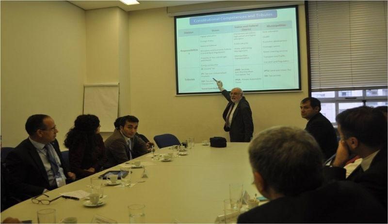 Yönetim Kurulumuz, Sao Paulo Belediyesini Ziyaret Etti