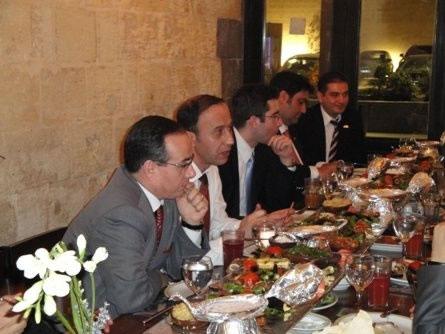 Halep'te Türkiye-suriye Bölgelerarası İşbirliği Programı Toplantısı