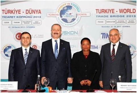 Diyarbakırlı İşadamları 140 Ülkeden İstanbul'a Gelen İşadamları ile Buluştu