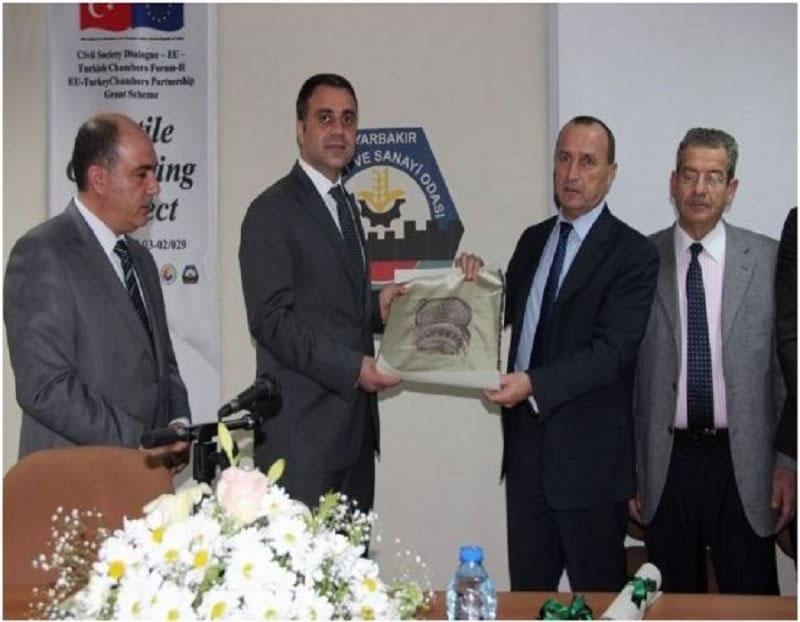 Diyarbakır Tekstil Kümelenme Projesi ile Sektöre Yöne Veriliyor