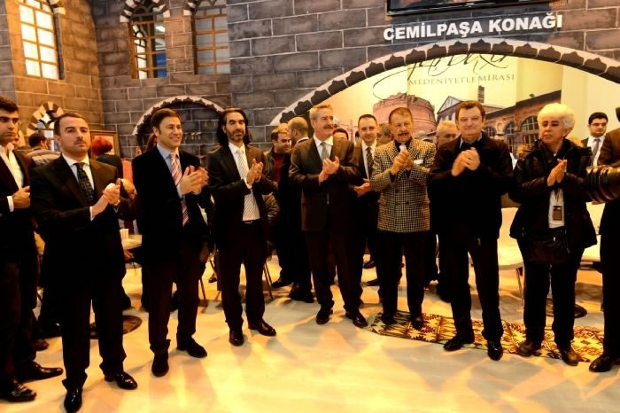 2014 Emit Fuarında Diyarbakır Standı Ziyaretçi Akınına Uğradı