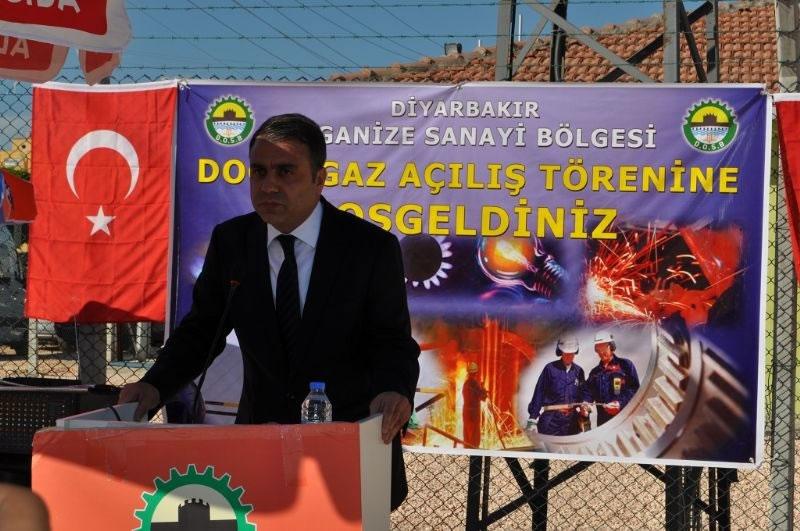 Diyarbakır Osb Doğalgaz Tesisi, Hizmete Açıldı